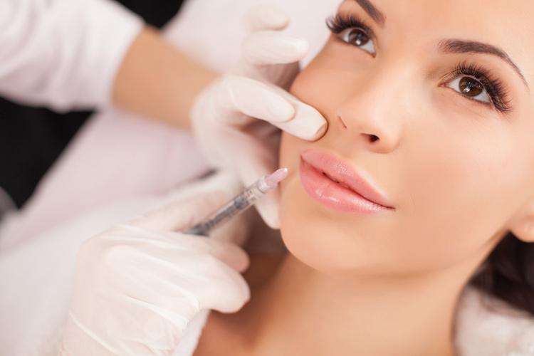 Контурная пластика, инъекционная косметология, увеличение губ, скул