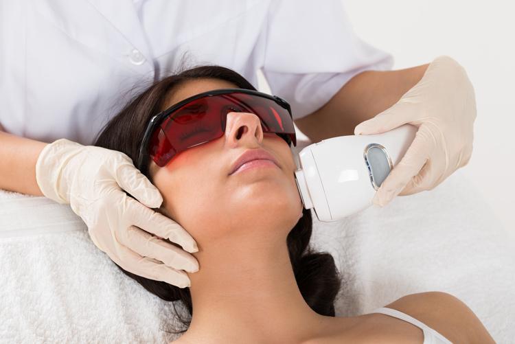 Аппаратная косметология, фотоомоложение, удаление купероза